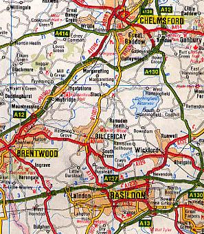 Click for Google Map for Billericay Go Club